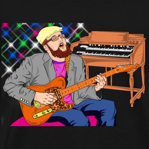 Dan Spiffy Neuman Music Logo #1 - Men's Premium T-Shirt
