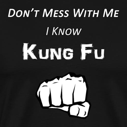I Know Kung Fu - Men's Premium T-Shirt