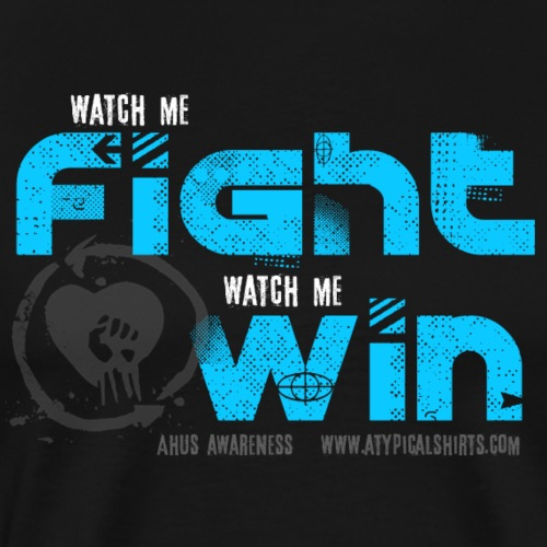WATCH ME FIGHT - Men's Premium T-Shirt