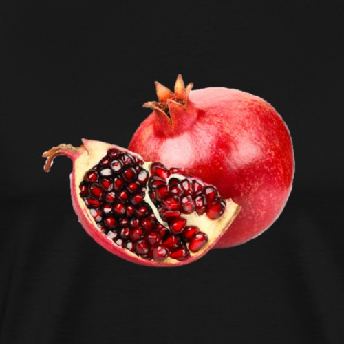 Pomegranate filled gear. - Men's Premium T-Shirt