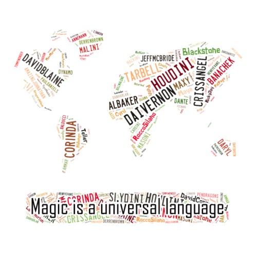 Magic is universal language - Men's Premium T-Shirt