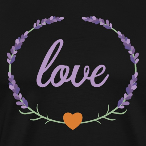 Lavender Love - Men's Premium T-Shirt