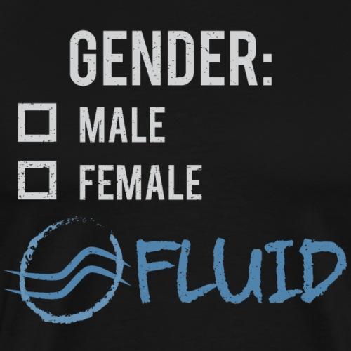 Gender: Fluid! - Men's Premium T-Shirt