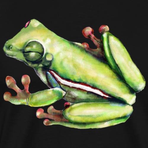 Winking frog - Men's Premium T-Shirt