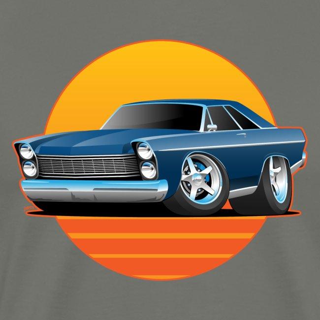 Classic Sixtes Big American Muscle Car