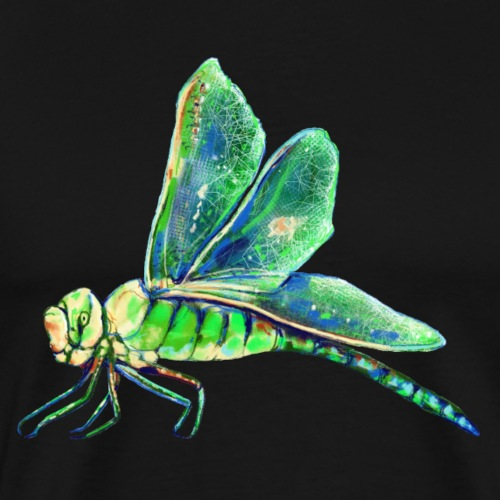 green dragonfly - Men's Premium T-Shirt
