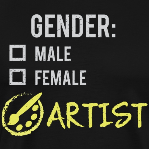 Gender: Artist! - Men's Premium T-Shirt