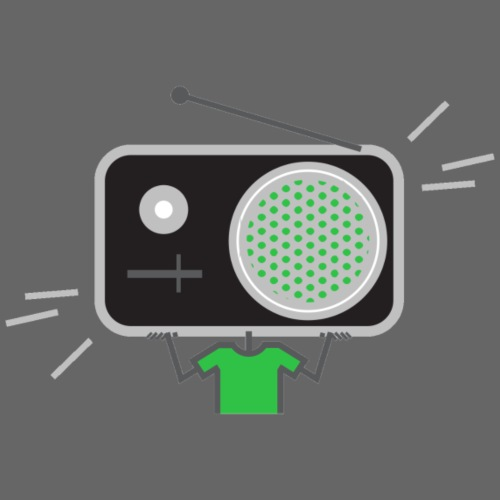 Green MusiqHead Merch - Men's Premium T-Shirt