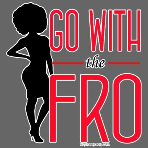 Go With the Fro (Dark) - Men's Premium T-Shirt