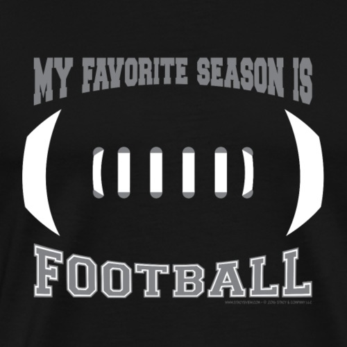 Football Season - Men's Premium T-Shirt