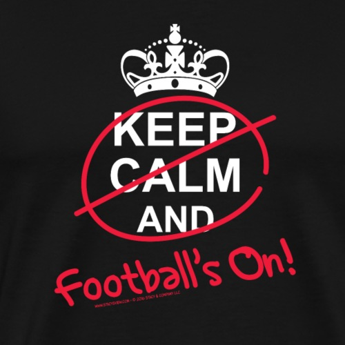 Football's On! - Men's Premium T-Shirt