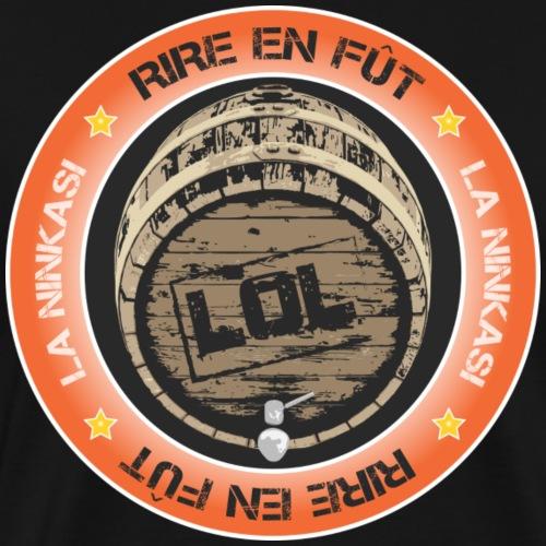 Rire en fut - logo - Men's Premium T-Shirt