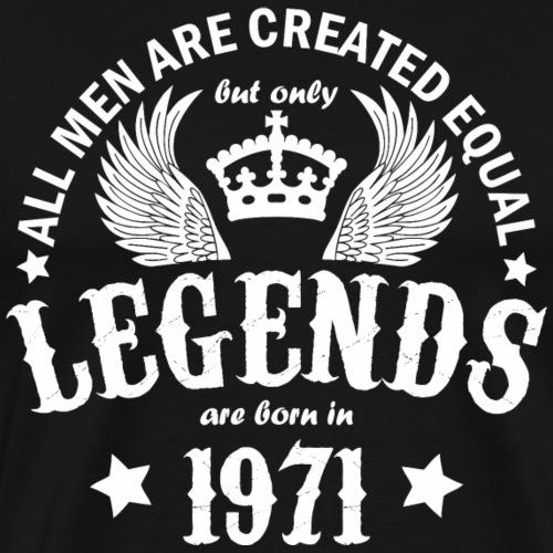 Legends are Born in 1971 - Men's Premium T-Shirt