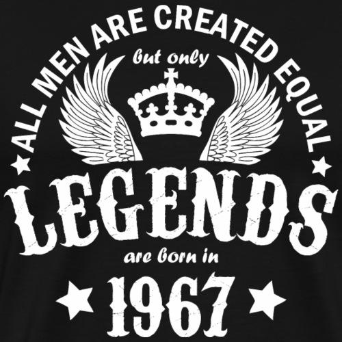 Legends are Born in 1967 - Men's Premium T-Shirt