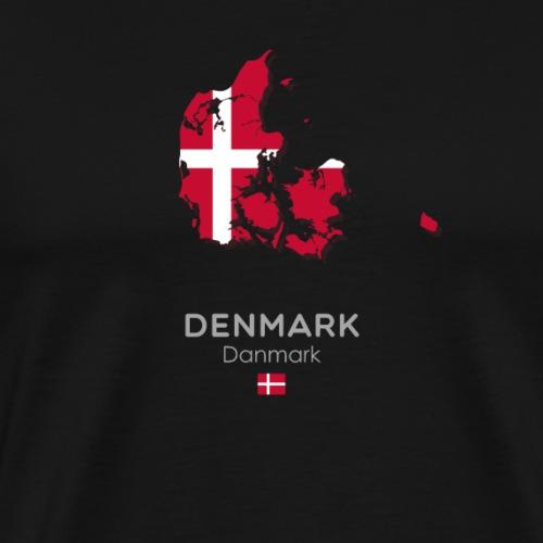 Denmark - Men's Premium T-Shirt