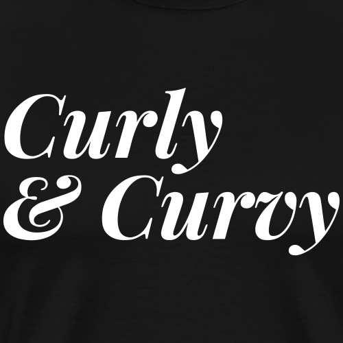 Curly & Curvy Women's Tee - Men's Premium T-Shirt