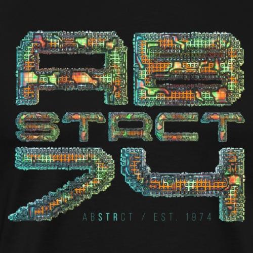 Abstrct 74 - Men's Premium T-Shirt
