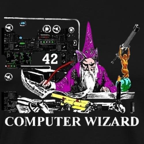 a computerwizard - Men's Premium T-Shirt