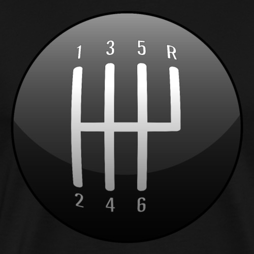 Classic Muscle Car / Sports Car Shift Knob - Men's Premium T-Shirt