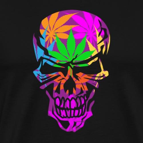Psychedelic Skull - Men's Premium T-Shirt
