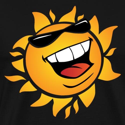 Smilin' Summer Sun - Men's Premium T-Shirt