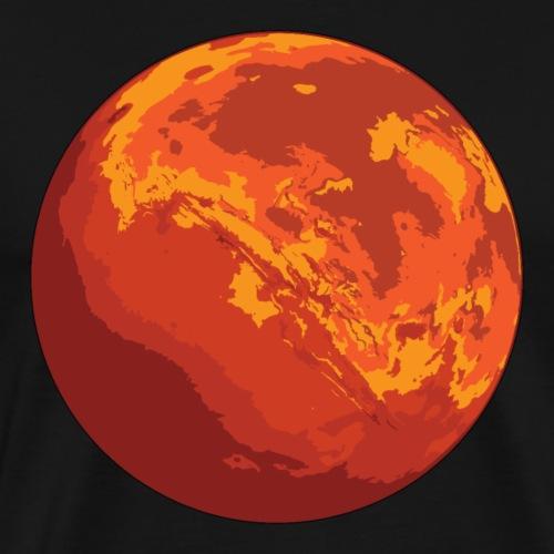 Mars the Red Planet - Men's Premium T-Shirt