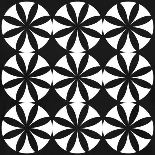 Flowers Pattern - Men's Premium T-Shirt