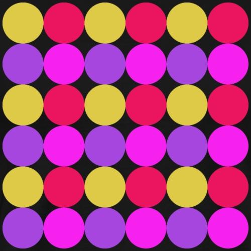 Purpley Circles - Men's Premium T-Shirt