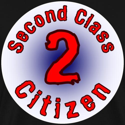 2nd Class Citizen Logo (Light) - Men's Premium T-Shirt