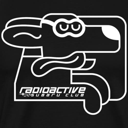Subie Dog Radioactive - Men's Premium T-Shirt