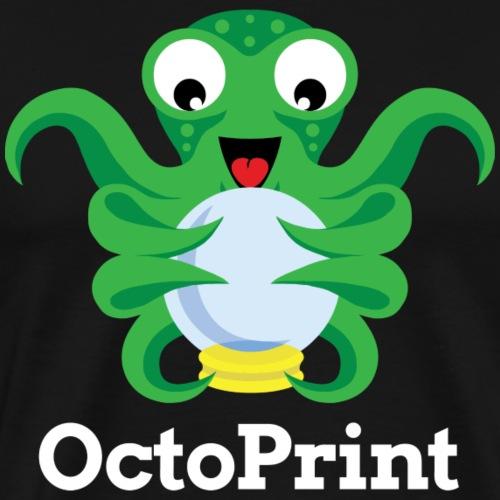OctoPrint Logo & Text - Men's Premium T-Shirt