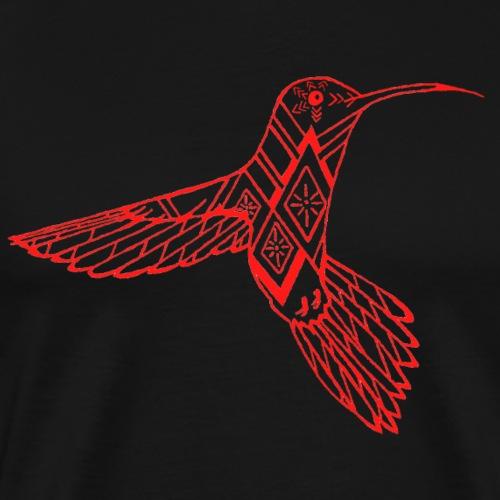 hummingbird red - Men's Premium T-Shirt