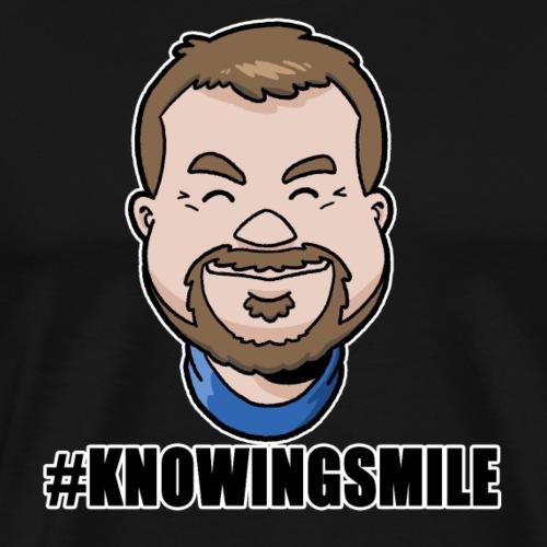 Ian's #KnowingSmile - Men's Premium T-Shirt