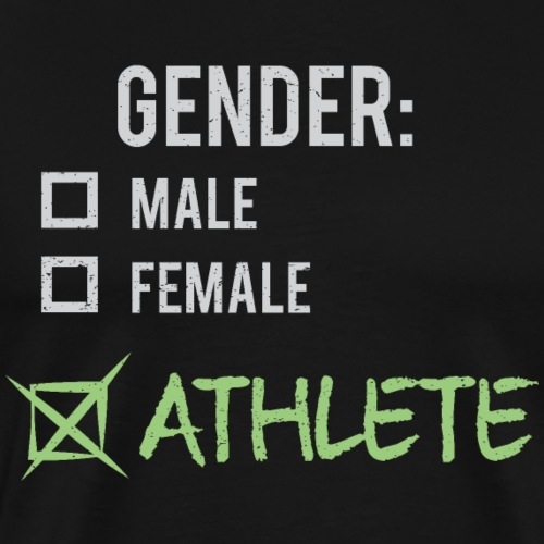 Gender: Athlete! - Men's Premium T-Shirt