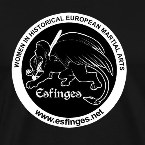 Esfinges Logo Black - Men's Premium T-Shirt