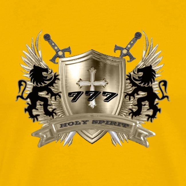 HOLY SPIRIT GOLD SHIELD