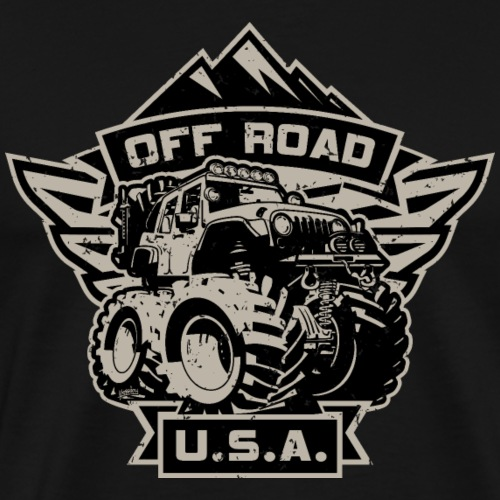 Off Road USA - Men's Premium T-Shirt