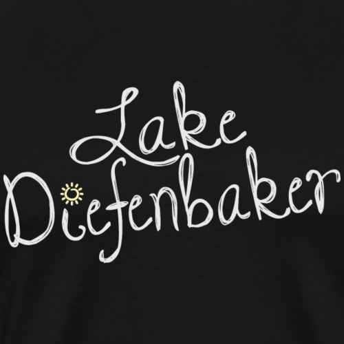 Lake Diefenbaker - Men's Premium T-Shirt
