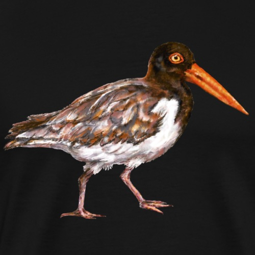 Oystercatcher bird - Men's Premium T-Shirt