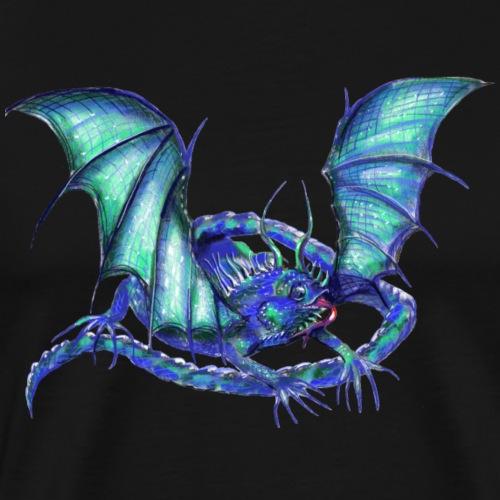 lizard dragon - Men's Premium T-Shirt