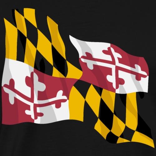 Maryland State Flag - Men's Premium T-Shirt