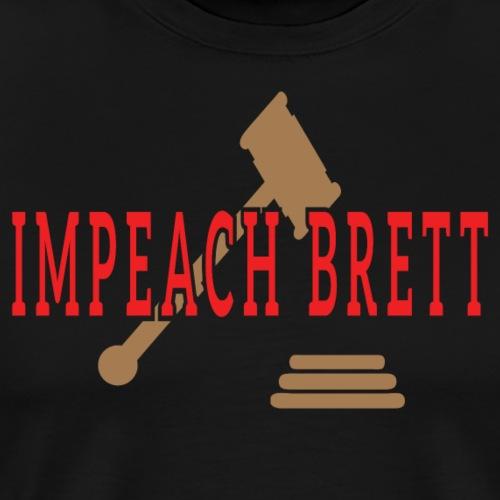 Impeach Brett T-shirts - Men's Premium T-Shirt