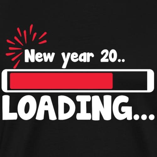 New year loading T shirt Funny Gift Tee - Men's Premium T-Shirt