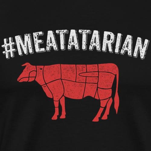 Meatatarian Print - Men's Premium T-Shirt