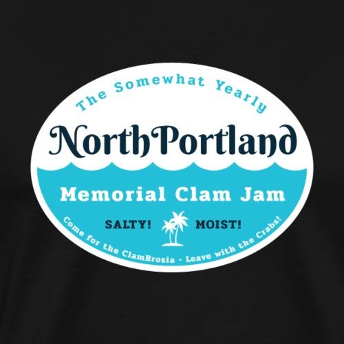 North Portland Clam Jam - Men's Premium T-Shirt