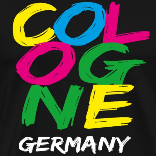 Colorful Cologne - Men's Premium T-Shirt