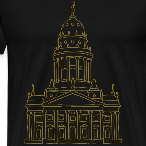 French Cathedral Berlin - Men's Premium T-Shirt
