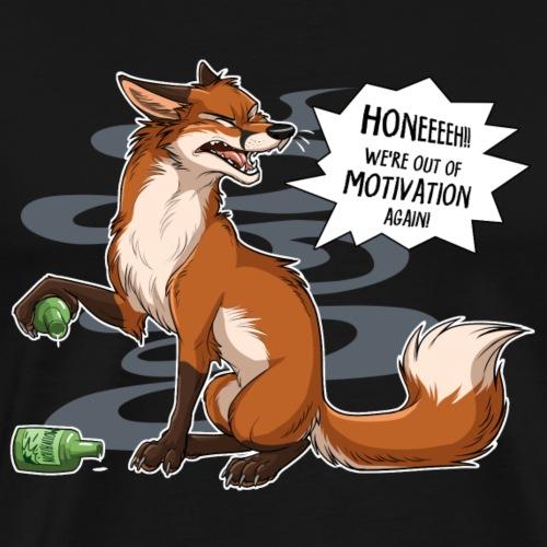 Out of Motivation - Men's Premium T-Shirt