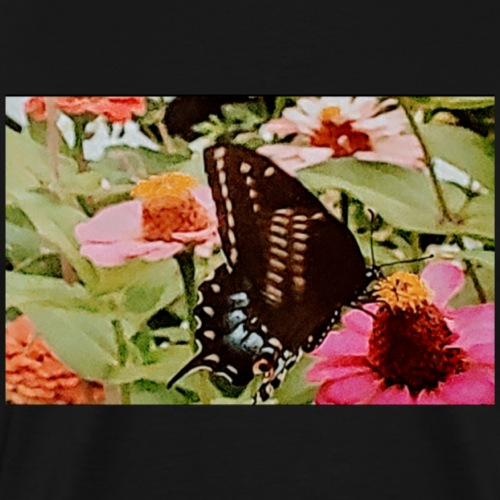 Butterflies are free to fly - Men's Premium T-Shirt