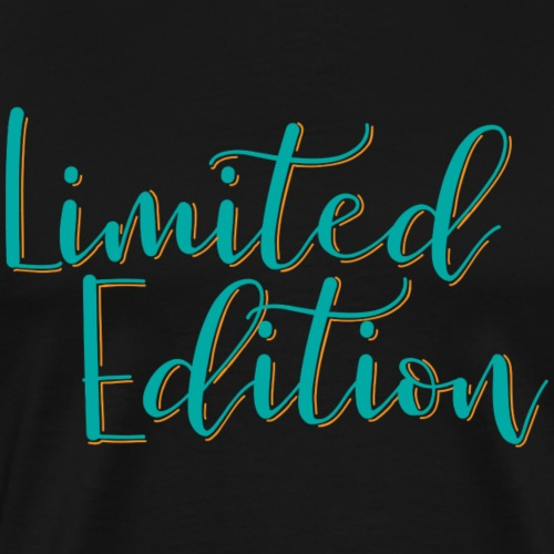 Limited Edition (orange and teal) - Men's Premium T-Shirt